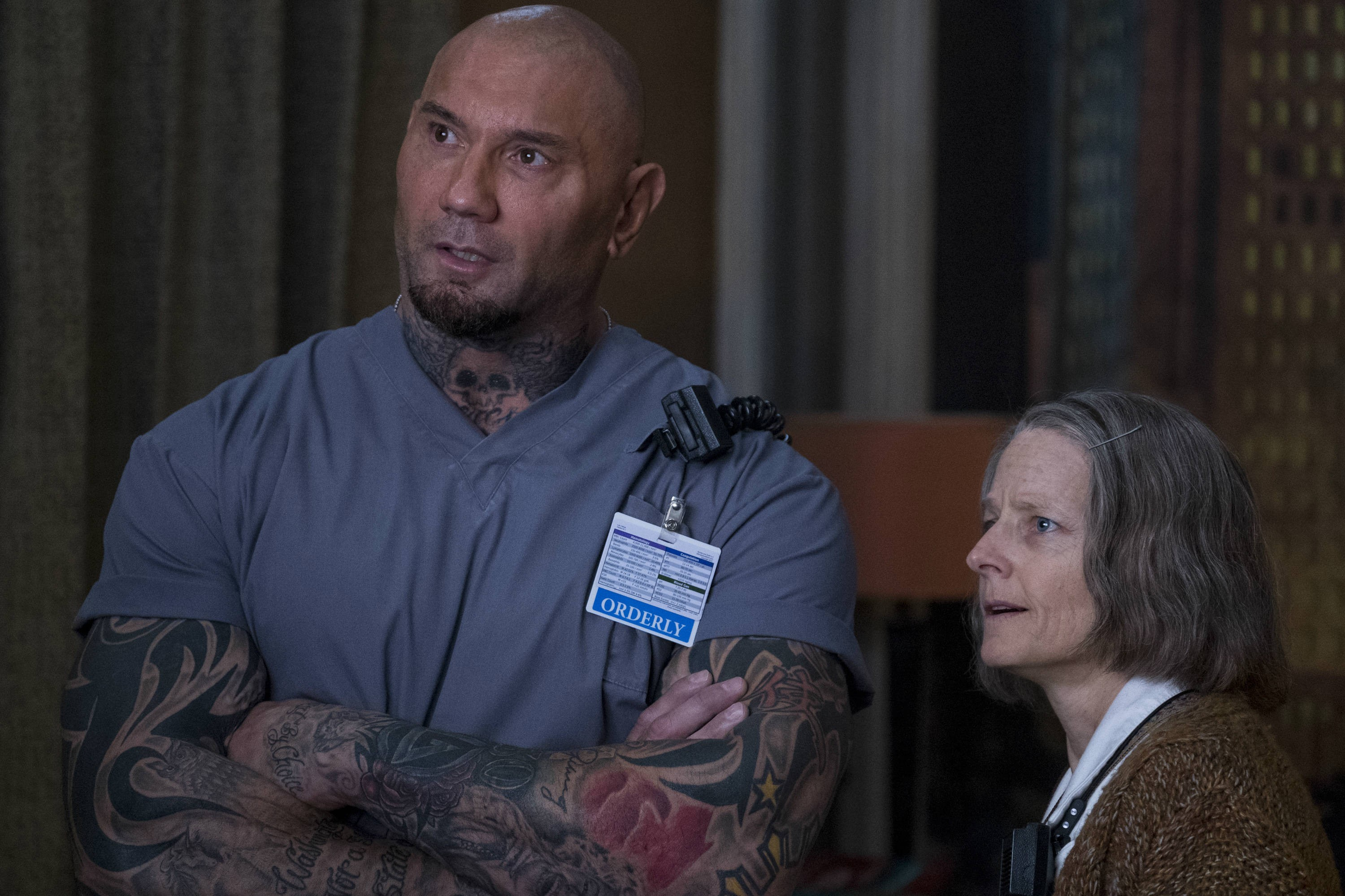 hotel-artemis-dave_bautista_jodie_foster_credit_global_road_entertainment